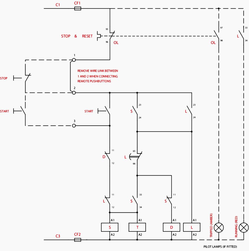 hight resolution of control wiring diagram of star delta starter