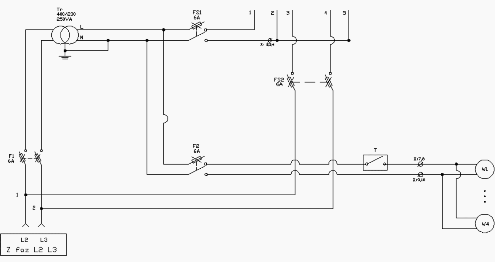 hight resolution of control circuit of capacitor bank
