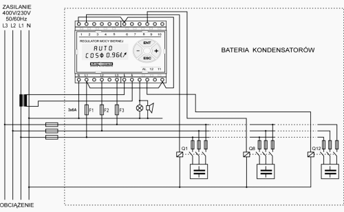 small resolution of wiring scheme of power factor regulator rmb 10 6