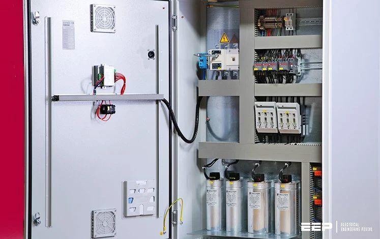 power capacitor wiring