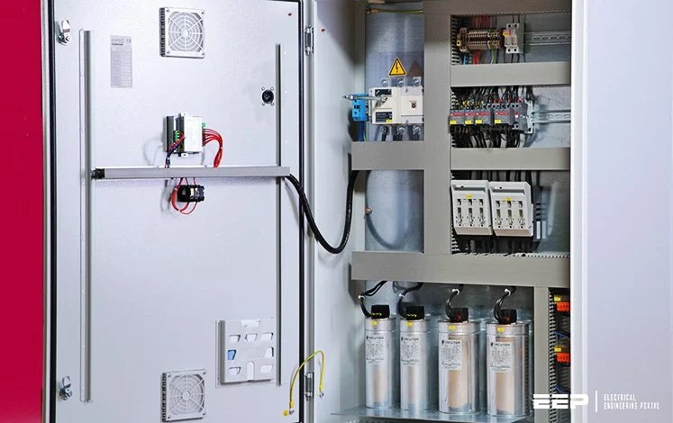read electrical wiring diagram horse parts of simple step-by-step tutorial for building capacitor bank and reactive power compensation panel | eep