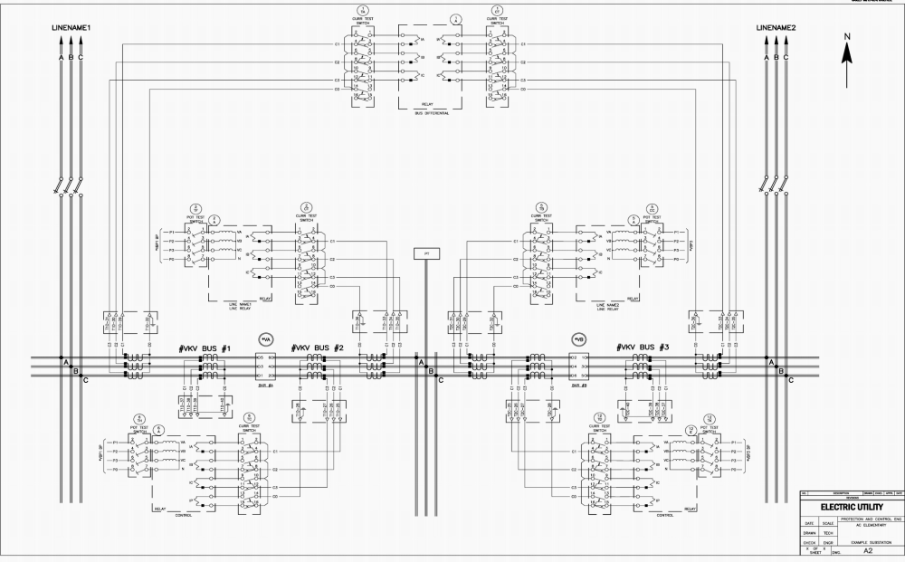 medium resolution of example a of an ac schematic