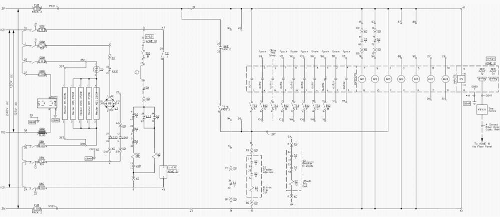 medium resolution of example d of a dc schematic