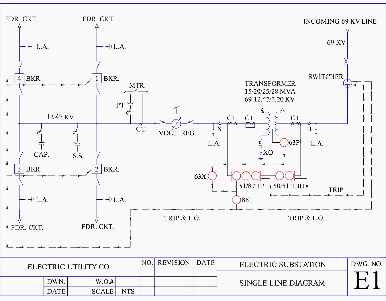low voltage wire schematic