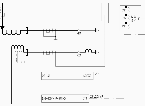 small resolution of example a of merging unit on single line