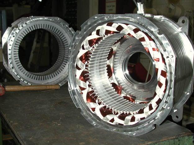 Single Phase Ac Motor Stator Wiring Diagram Motor Repalcement Parts