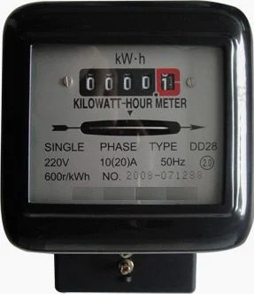 digital meter wiring diagram vy thermo fan overview of single phase induction type energy