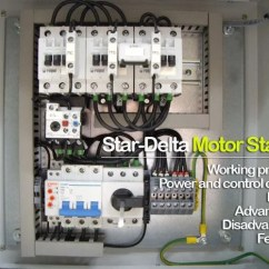 3 Phase Star Delta Starter Wiring Diagram Spst Toggle Switch Star-delta Motor Explained In Details | Eep