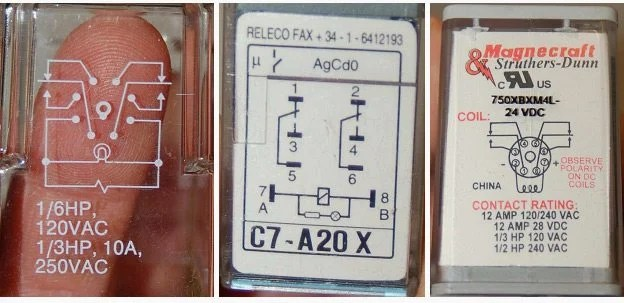 5 prong relay wiring diagram 12 volt double pole throw front wheel drive suspension an overview of control ice cube relays three different brands dpdt