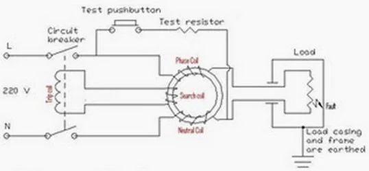 rccb wiring diagram
