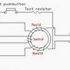 Ground Fault Wiring Diagram Stihl 009 Chainsaw Parts Working Principle Of Earth Leakage Circuit Breaker (elcb) And Residual Current Device (rcd)