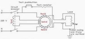Working Principle of Earth Leakage Circuit Breaker (ELCB