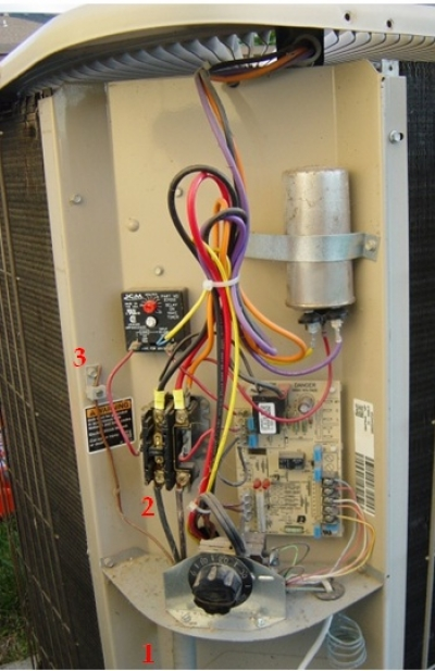 circuit breaker panel wiring diagram for les paul style guitar installing a 220vac air conditioning condenser unit