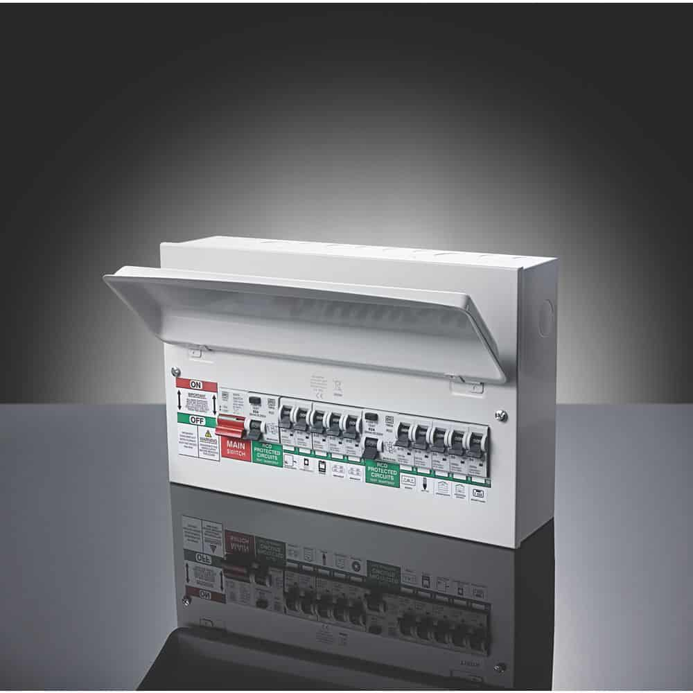 hight resolution of new consumer units fuse boards