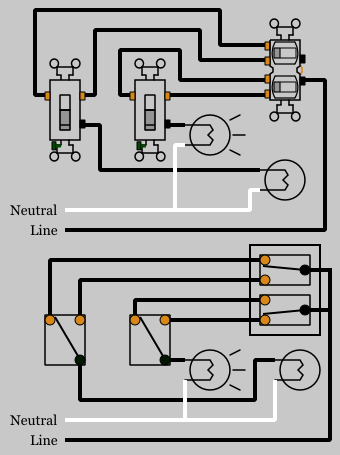 3 Switch Wiring Diagram : switch, wiring, diagram, 3-way, Duplex, Switches, Electrical