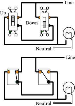 3 Switch Wiring Diagram : switch, wiring, diagram, Alternate, 3-way, Switches, Electrical
