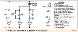 Circuit Breaker Schematic Diagram | Electrical Academia
