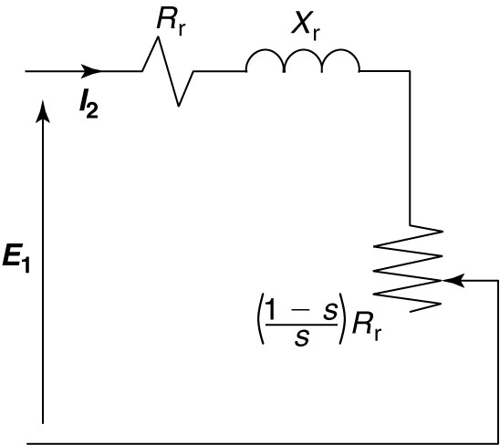 Three Phase Induction Motor Equivalent Circuit
