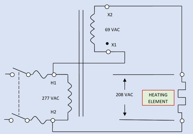 buckboost transformer working principle  electrical academia