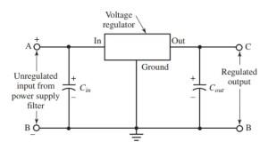 Voltage Regulator: Working Principle & Circuit Diagram | Voltage Regulator in Power Supply