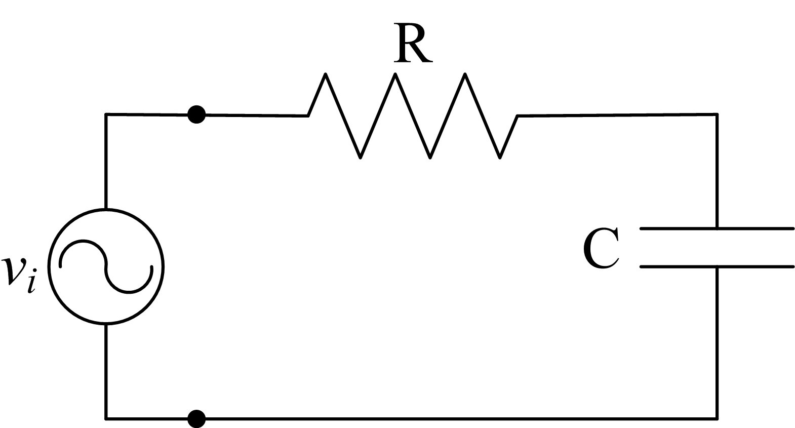 hight resolution of ac capacitor circuits