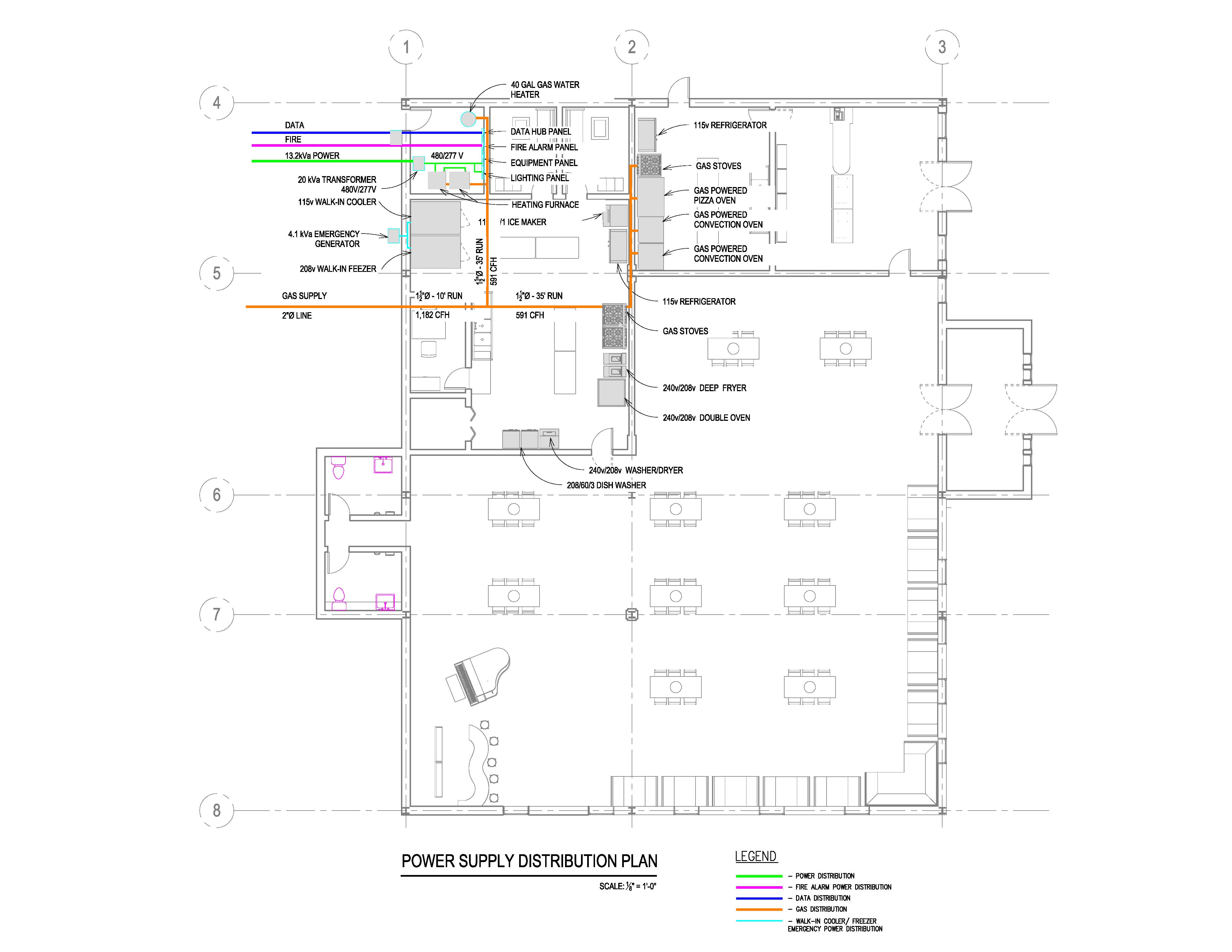 single line diagram of power distribution motor startet nicht electrical diagrams and plumbing design