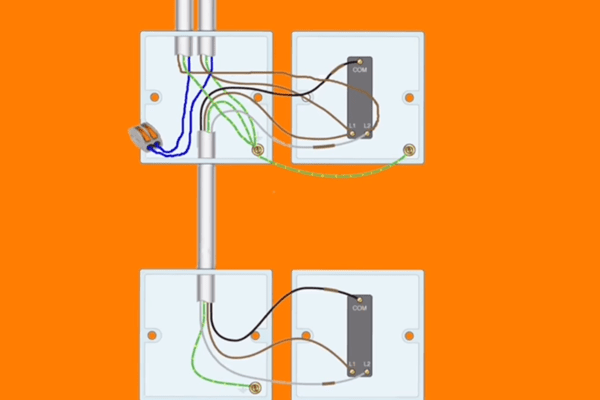 Charleston Home Inspector Explains How To Wire A Three Way Switch For