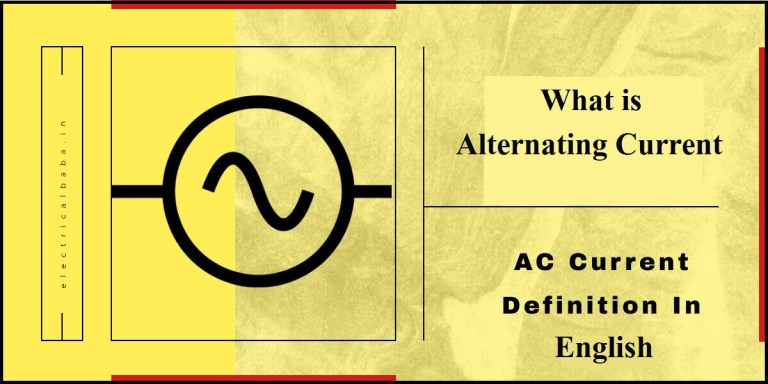 What Is An Alternating Current? | Definition Of AC Current