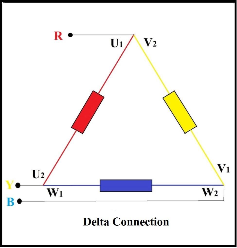 Delta Connection Diagram