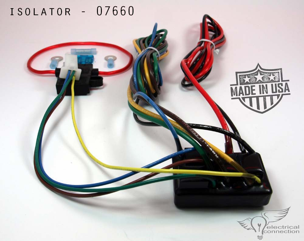hight resolution of home electrical trailer trike sidecar isolator honda gl1800 07664
