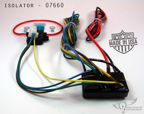 small resolution of home electrical trailer trike sidecar isolator honda gl1800 07664
