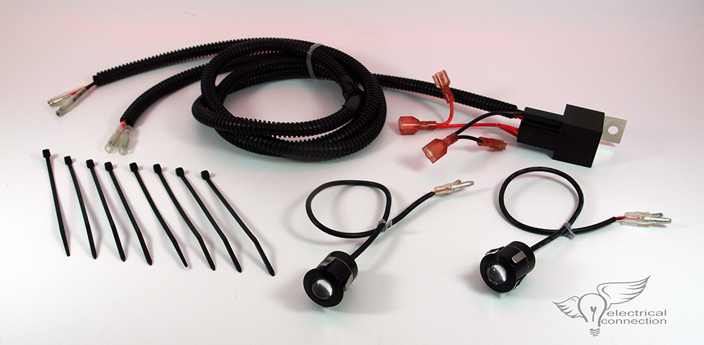 ford laser wiring diagram stereo absolute encoder fog light harness kit - electrical schematic