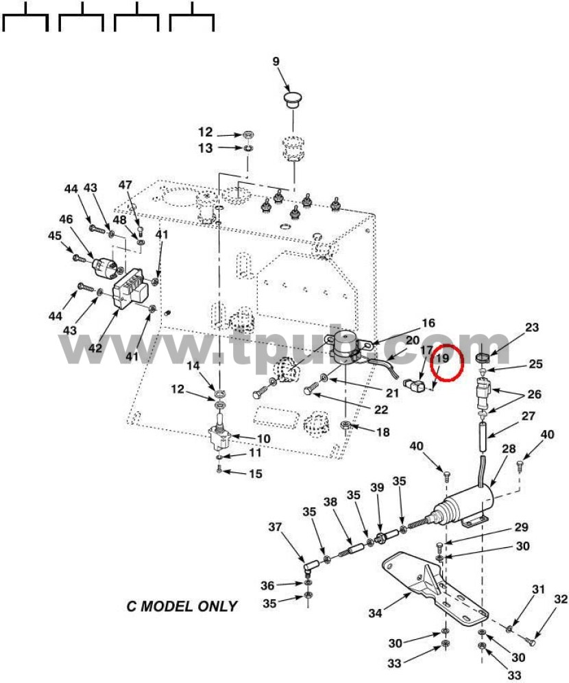 5935-01-429-0889 Connector, Plug, Electrical