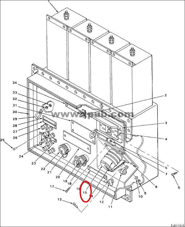 5935-00-114-8708 Connector, Receptacle, Electrical