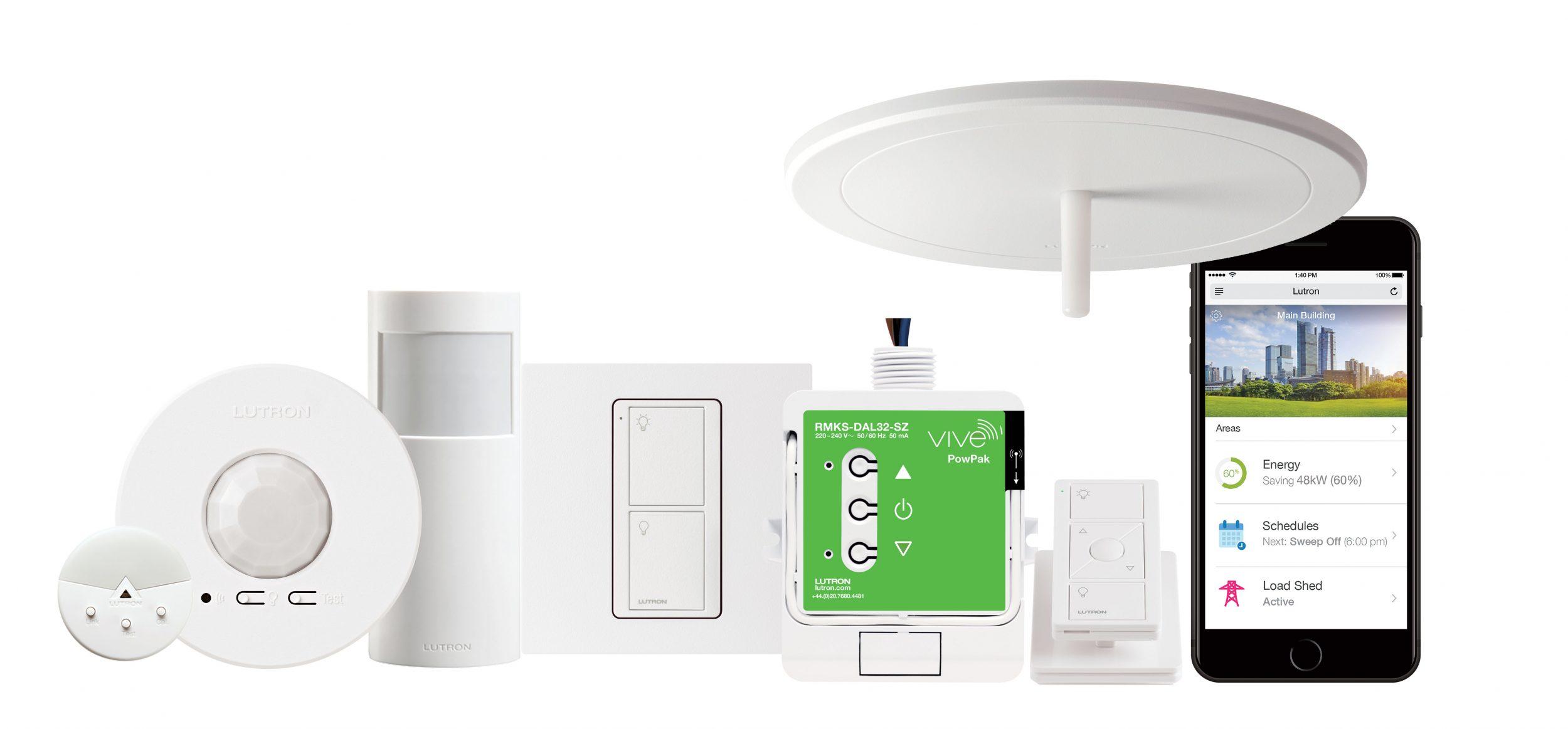 lutron launches vive wireless lighting