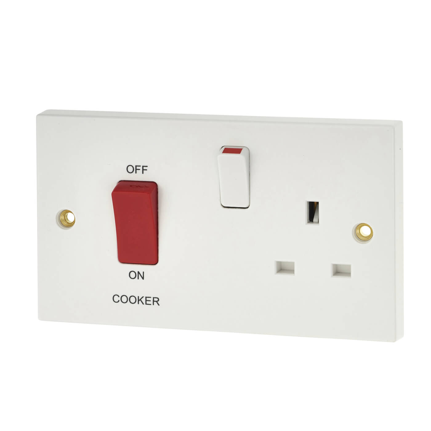 2 gang cooker switch wiring diagram venn and carroll diagrams ks2 bg 45a control socket white