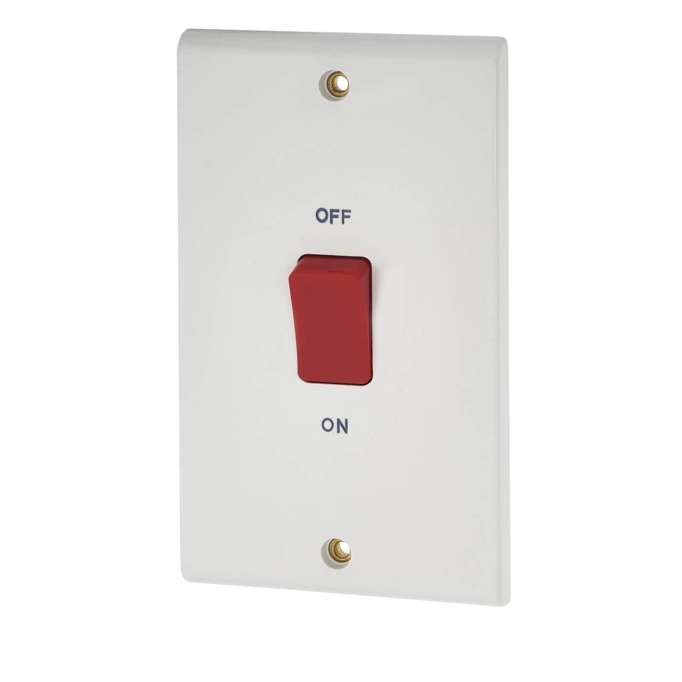 2 gang cooker switch wiring diagram leviton three way dimmer deta 45a white electricaldirect