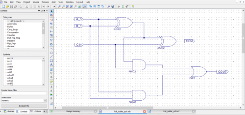 small resolution of full adder schematic