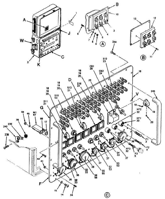 Figure 2. Power Supply Test Set Exploded View (Sheet 1 of 9)