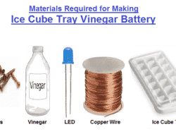 How to make Ice Cube Tray Vinegar Battery – Hypothesis and Explanation of Experiment Step by Step