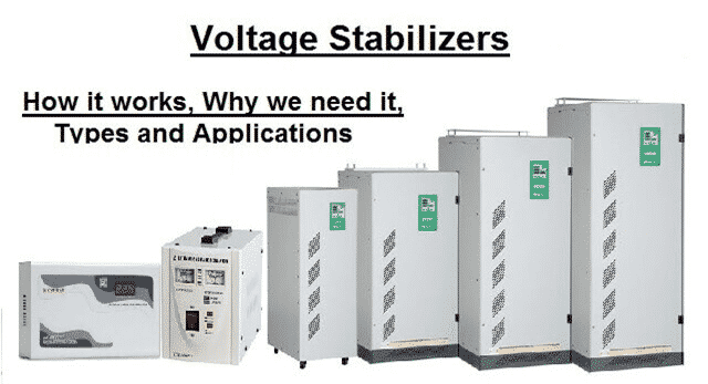 Diffrent type of Voltage Stabilizers