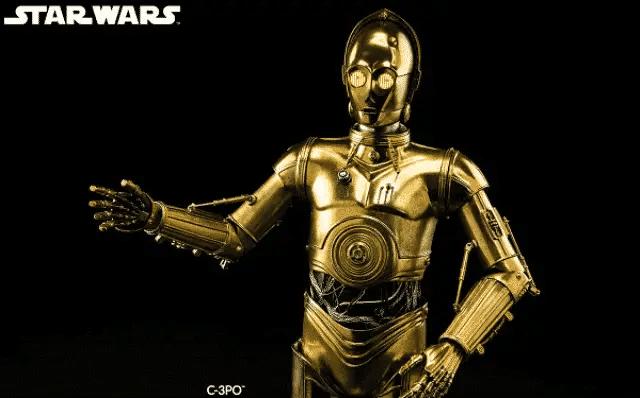 6 C3PO in Star Wars