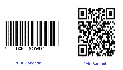2 Types of Barcodes