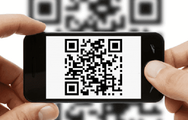 QR code used in Marker based Augmented Reality