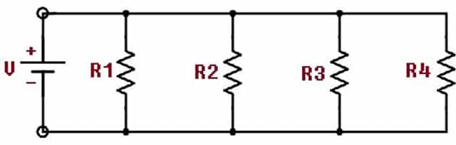 what is parallel circuit  how to make characteristics