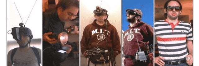 Evolution of  Steve Mann's Wearable Computing Devices