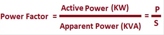 Power Factor equation (1)