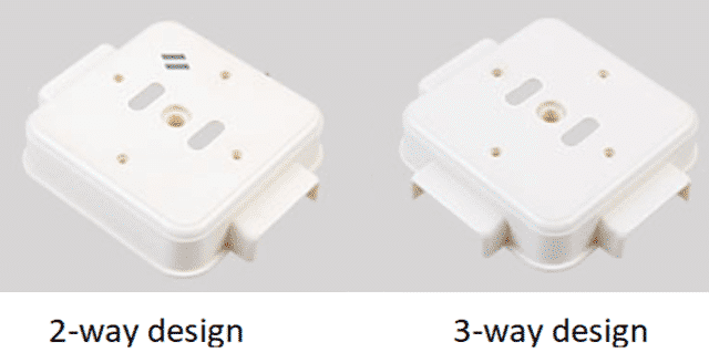 Casing and Capping 2-Way 3-Way Design