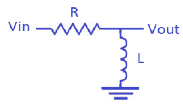 R-L Filter Circuit