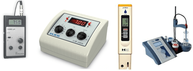 Different Types of pH Meters